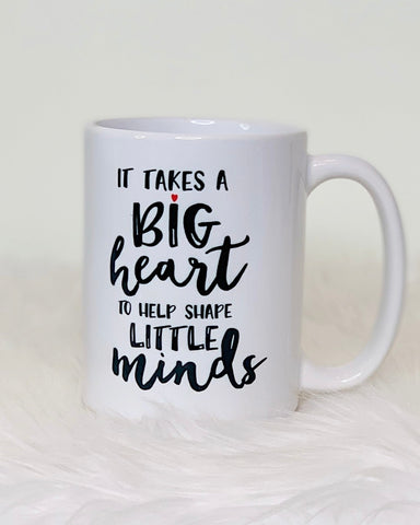 It Takes A Big Heart 15oz Mug