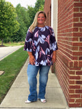 Southern Bell Top In Plum