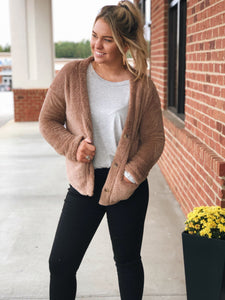 Cozy Me Up Jacket in Mocha