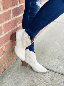 Rodeo Ready Western Bootie Stone