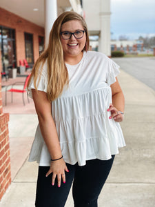 The Rita Tiered Top