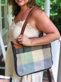 Color Chunk Shoulder Bag