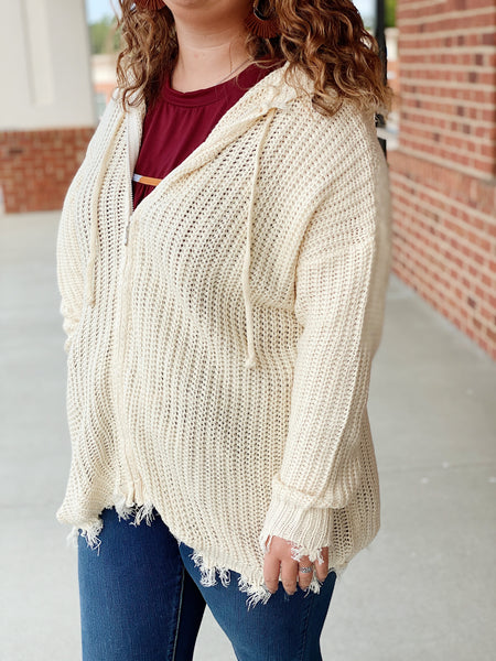 The Josephine Sweater in Natural