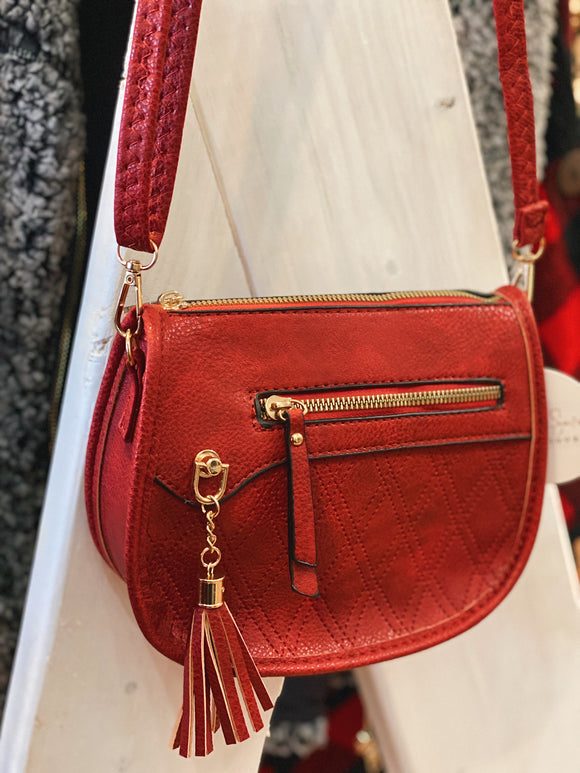 Classic Intuitions Purse in Red