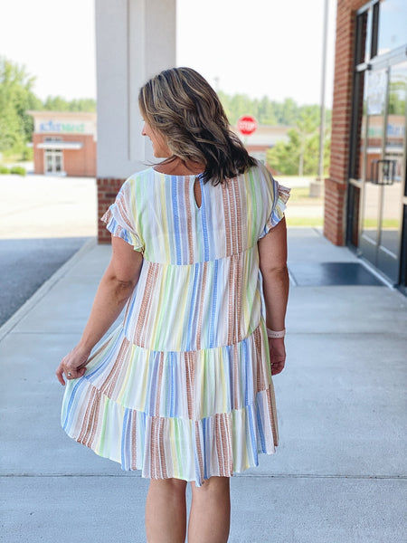 The Dina Dress in Multi