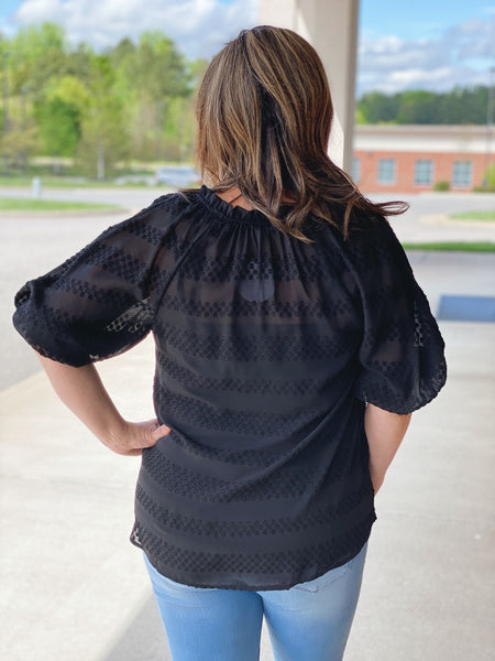The Gigi Blouse in Black