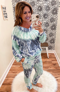 The Olivia Tie Dye Jogger Pants
