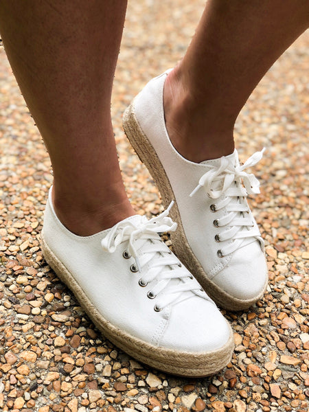 Espadrille Sneakers White