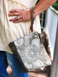 Hollyhock Crossbody Pouch