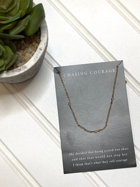 Chasing Courage Necklace