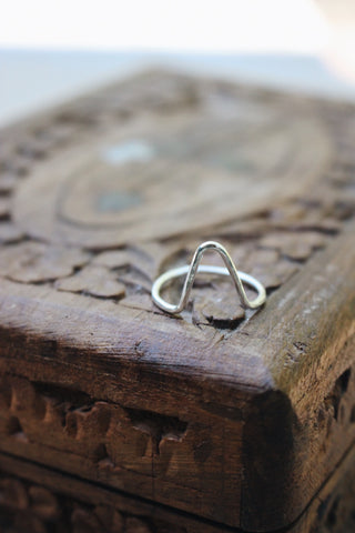 Element Ring in Sterling Silver
