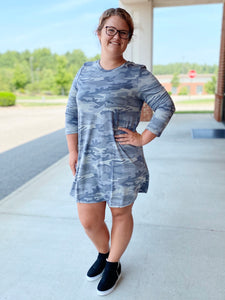 The Mae Camo Dress