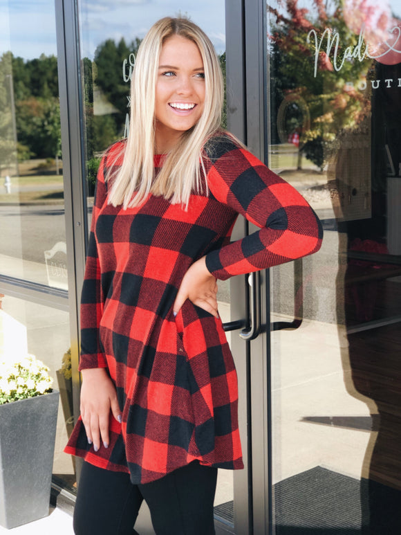 The Time Is Yours Tunic Dress