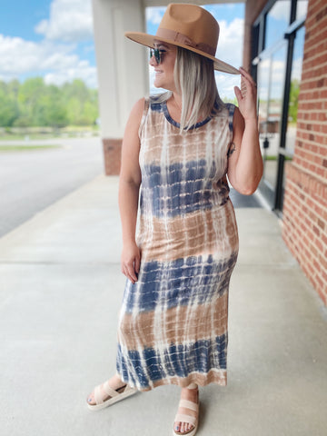 The Debbie Tank Maxi Dress