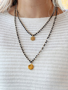 Easy Tiger Necklace in Black