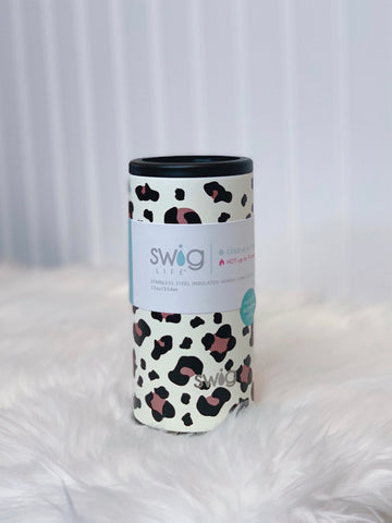 Swig 12oz Luxy Leopard Can Cooler