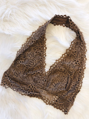 So This is Love Bralette in Mocha