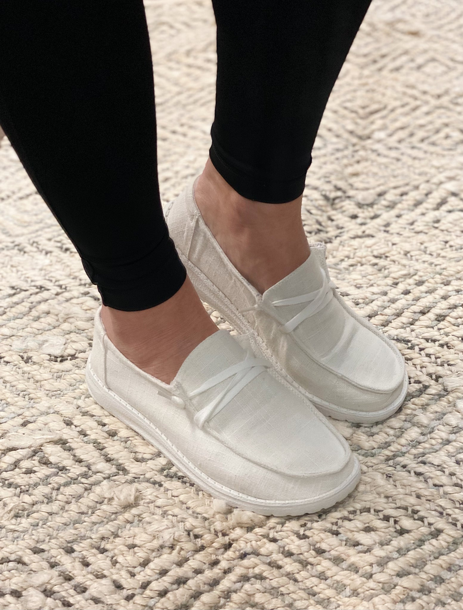 Gypsy Jazz Sneakers in White