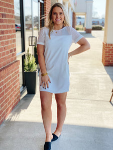 The Lindsey Dress in White