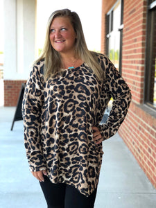 Love of the Wild Leopard Top