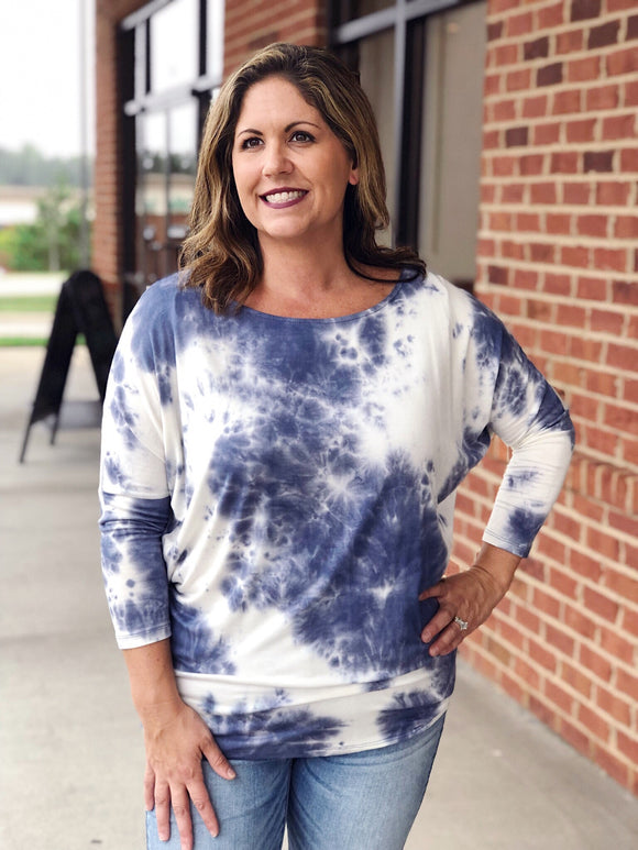 To Die For Tie Dye In Navy