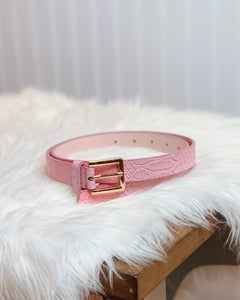 The Brenna Belt in Blush