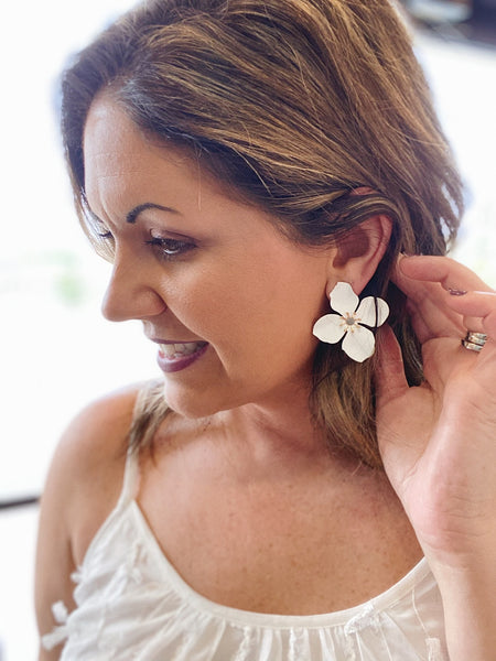 The Ingrid Flower Earrings