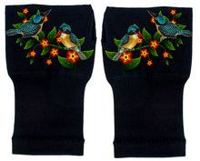 Load image into Gallery viewer, Fingerless Gloves for Arthritis - Arthritis Gloves with Compression - Wrist Wrap - Wrist Support  - Birds & Vine