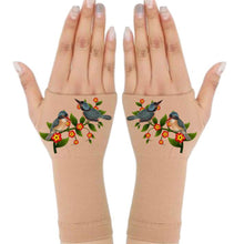 Load image into Gallery viewer, Fingerless Gloves for Arthritis - Arthritis Gloves with Compression - Wrist Wrap - Wrist Support - Vines