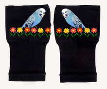 Load image into Gallery viewer, Gloves Arthritis  Hands - Arthritis Compression Gloves - Fingerless Compression Gloves - Blue Bird