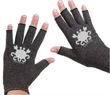 Load image into Gallery viewer, Aquarius Fingerless Gloves for Arthritis - Arthritis Gloves with Compression - Wrist Wrap - Wrist Support - Arthritis Relief