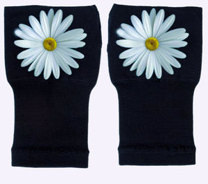 Gloves Arthritis  Hands - Arthritis Compression Gloves - Fingerless Compression Gloves- Elegant Daisy