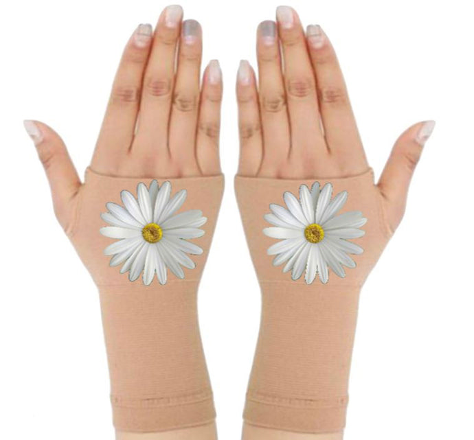 Arthritis  Gloves - Carpal Tunnel Treatment - Wrist Support - Hand Brace - Elegant Daisy