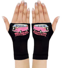 Load image into Gallery viewer, Fingerless Gloves & Wrist Support  Arthritis -  Carpal Tunnel Treatment - Happy Days Pink