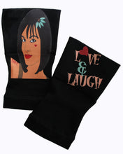 Load image into Gallery viewer, Gloves Arthritis  Hands - Arthritis Compression Gloves - Fingerless Compression Gloves - Love & Laugh