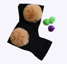 Load image into Gallery viewer, Arthritis  Gloves - Carpal Tunnel Treatment - Wrist Support - Hand Brace- Fur Ball Tan
