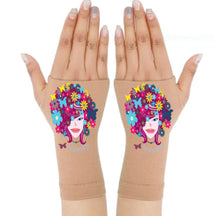 Load image into Gallery viewer, Arthritis Gloves - Carpal Tunnel Treatment - Wrist Support - Hand Brace - Bloom