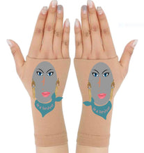 Load image into Gallery viewer, Gloves Arthritis  Hands - Arthritis Compression Gloves - Fingerless Compression Gloves- Survivor