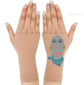 Gloves Arthritis  Hands - Arthritis Compression Gloves - Fingerless Compression Gloves- Survivor