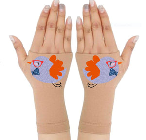 Arthritis  Gloves - Carpal Tunnel Treatment - Wrist Support - Hand Brace - Ms. Birdie