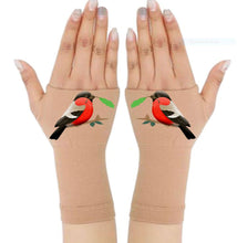 Load image into Gallery viewer, Arthritis  Gloves - Carpal Tunnel Treatment - Wrist Support - Red Robbin