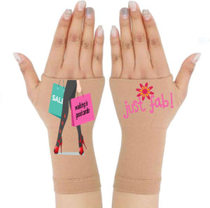 Arthritis  Gloves - Carpal Tunnel Treatment - Wrist Support - Hand Brace -Just Fab Pair