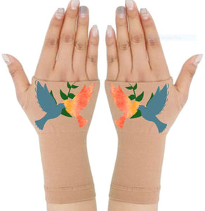 Arthritis  Gloves - Carpal Tunnel Treatment - Wrist Support - Hand Brace - Two Doves