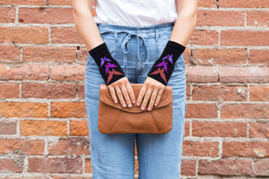 Fingerless Gloves - Arhritis Gloves -  Fingerless Mittens- Wrist Warmer- Gloves Women - Colorful Fingerless Gloves - Fly