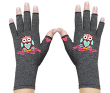 Load image into Gallery viewer, Fingerless Gloves - Arthritis Gloves -Wrist Warmers - Mittens - Carpal Tunnel Relief - Wrist Support - I'm Mama First