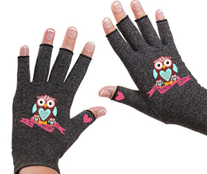 Fingerless Gloves - Arthritis Gloves -Wrist Warmers - Mittens - Carpal Tunnel Relief - Wrist Support - I'm Mama First
