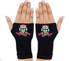 Load image into Gallery viewer, Fingerless Gloves - Arthritis Gloves -Wrist Warmers - Mittens - Stocking Stuffer - Carpal Tunnel Relief - Wrist Support -I'm Mama First