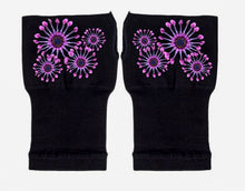 Load image into Gallery viewer, Gloves Arthritis  Hands - Arthritis Compression Gloves - Fingerless Compression Gloves- Fireworks