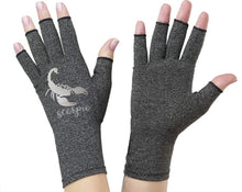 Load image into Gallery viewer, Scorpio Zodiac Fingerless Gloves for Arthritis - Arthritis Gloves with Compression - Wrist Wrap - Wrist Support - Arthritis Relief