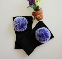 Load image into Gallery viewer, Arthritis  Gloves - Carpal Tunnel Treatment - Wrist Support - Hand Brace - Fur Ball Blue